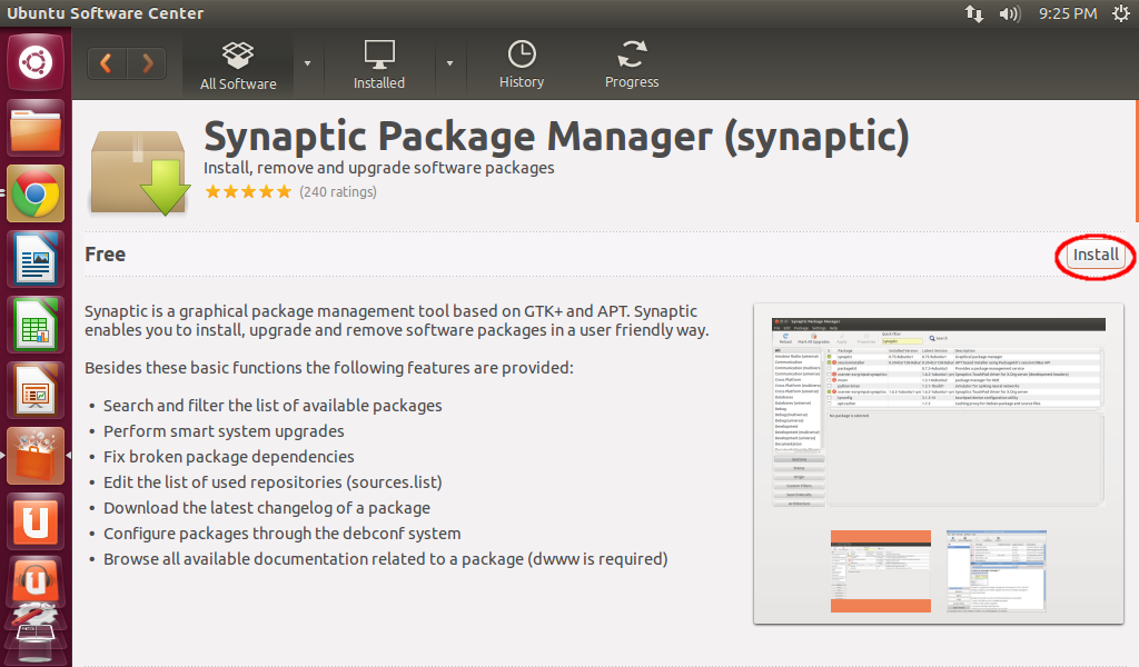 Java-Buddy: How to install Synaptic Package Manager on