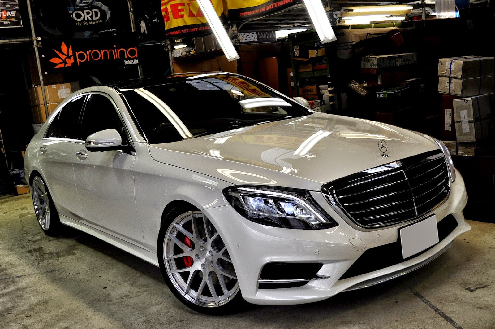 Mercedes-Benz W222 S550 on BC Forged Wheels | BENZTUNING