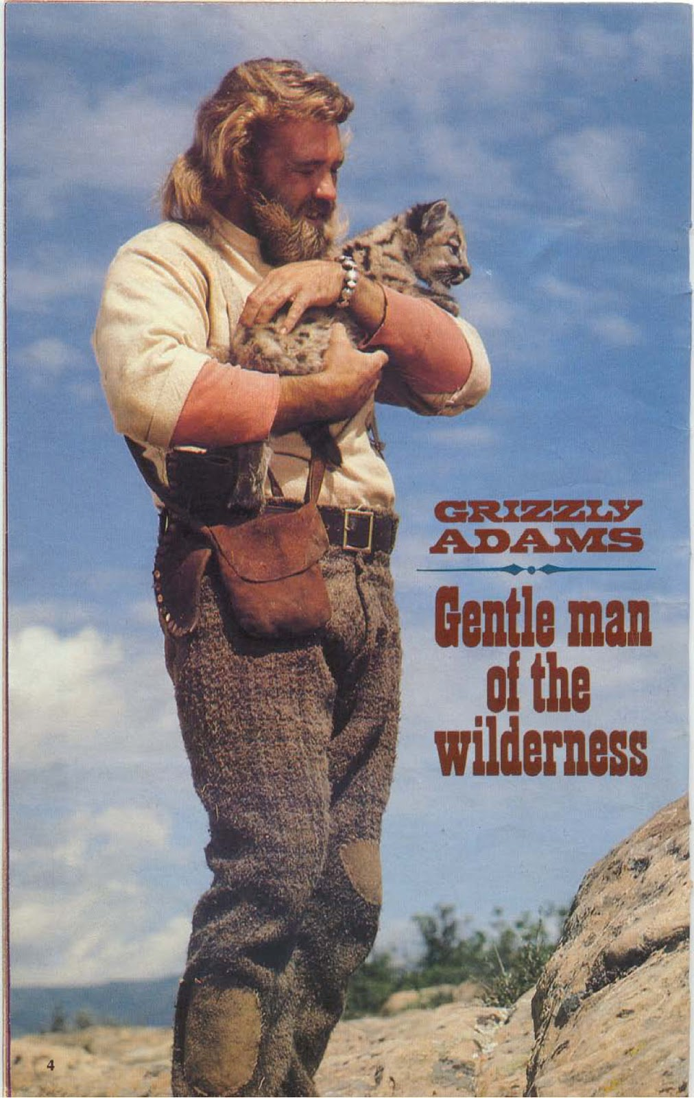Grizzly Adams Did Have A Beard : grizzly, adams, beard, Strange, Story, Behind, Grizzly, Adams