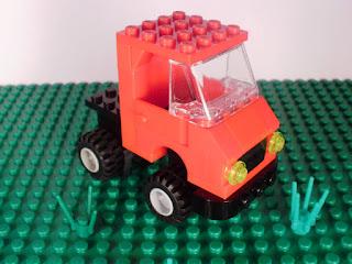 MOC LEGO Ensaio Unimog