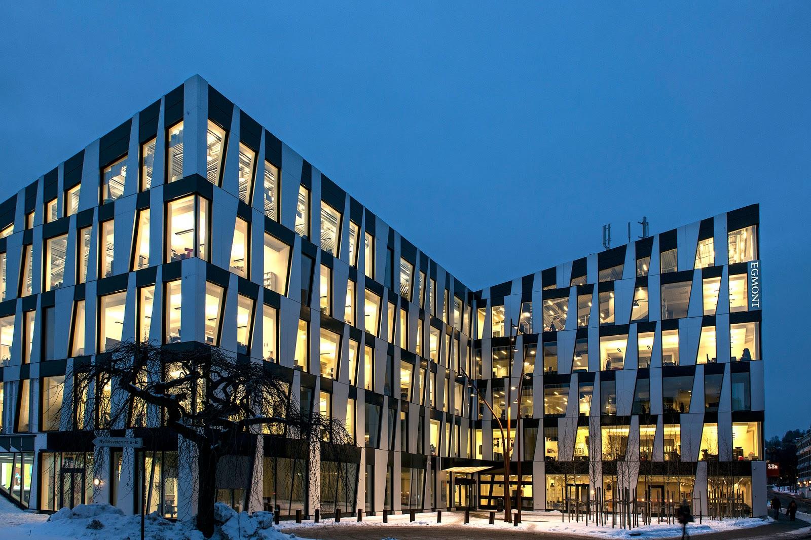 Architecture Art Code Facade Spikerverket By Mad Arkitekter