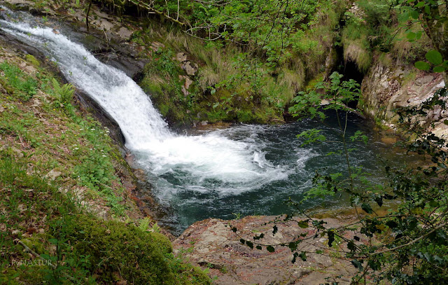 Poza en el Río Infierno