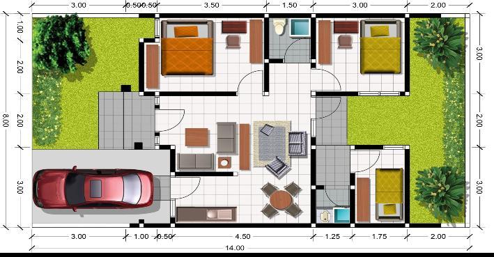 Desain Rumah Dapur Didepan Desainrumahid