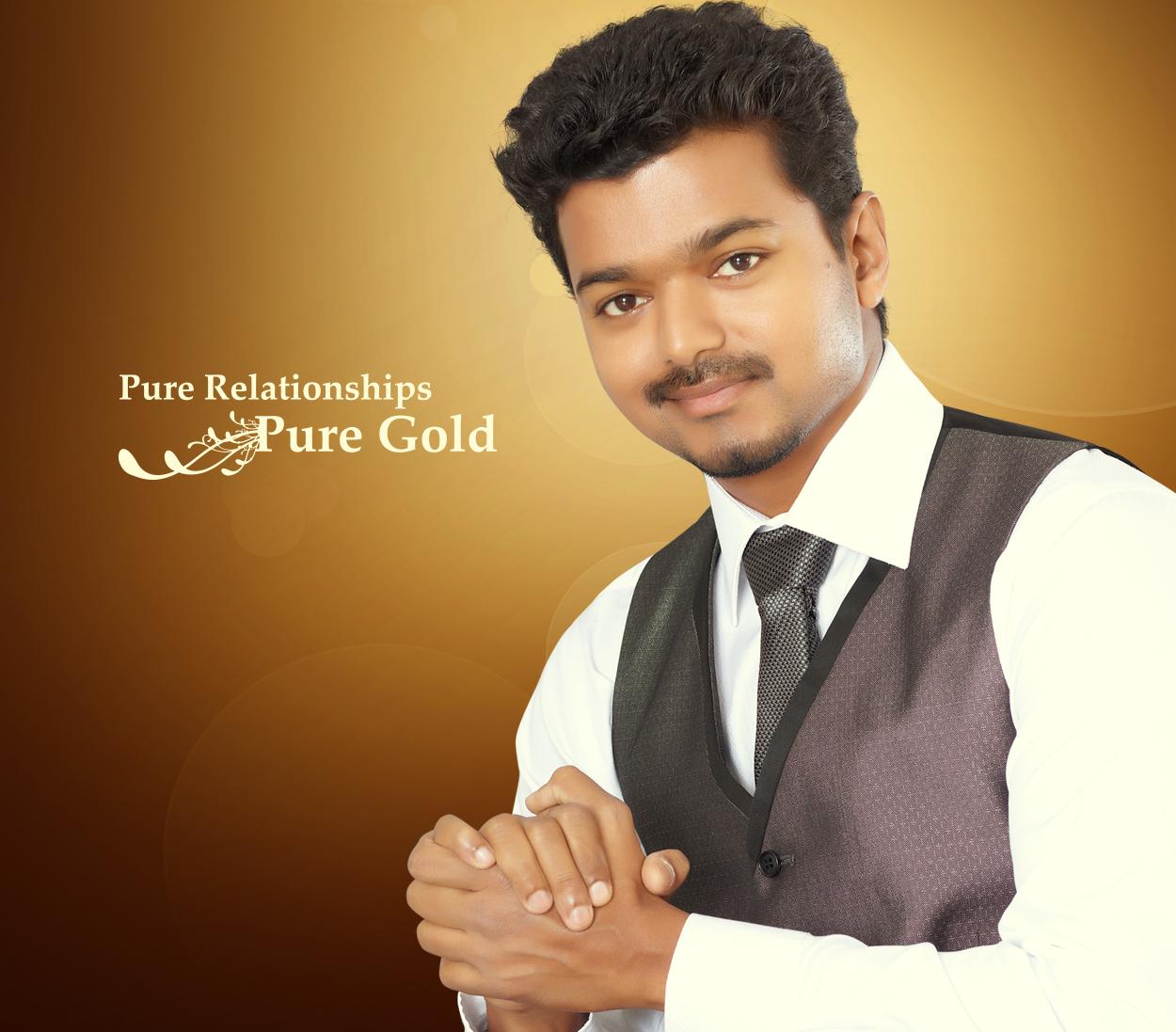 Vijay Tamil Actor Gallery Jos Alukkas Ad Jos Alukkas Opening Day