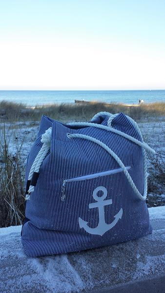 Strandtasche , Tasche Carrie von paddydoo
