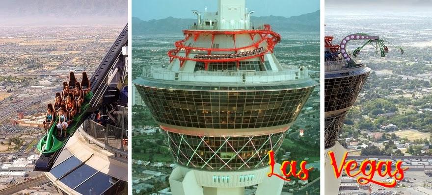 Las Vegas39s Stratosphere Roller Coaster