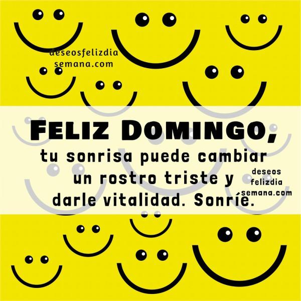 Frases de aliento de feliz domingo, imágenes para compartir facebook por Mery Bracho