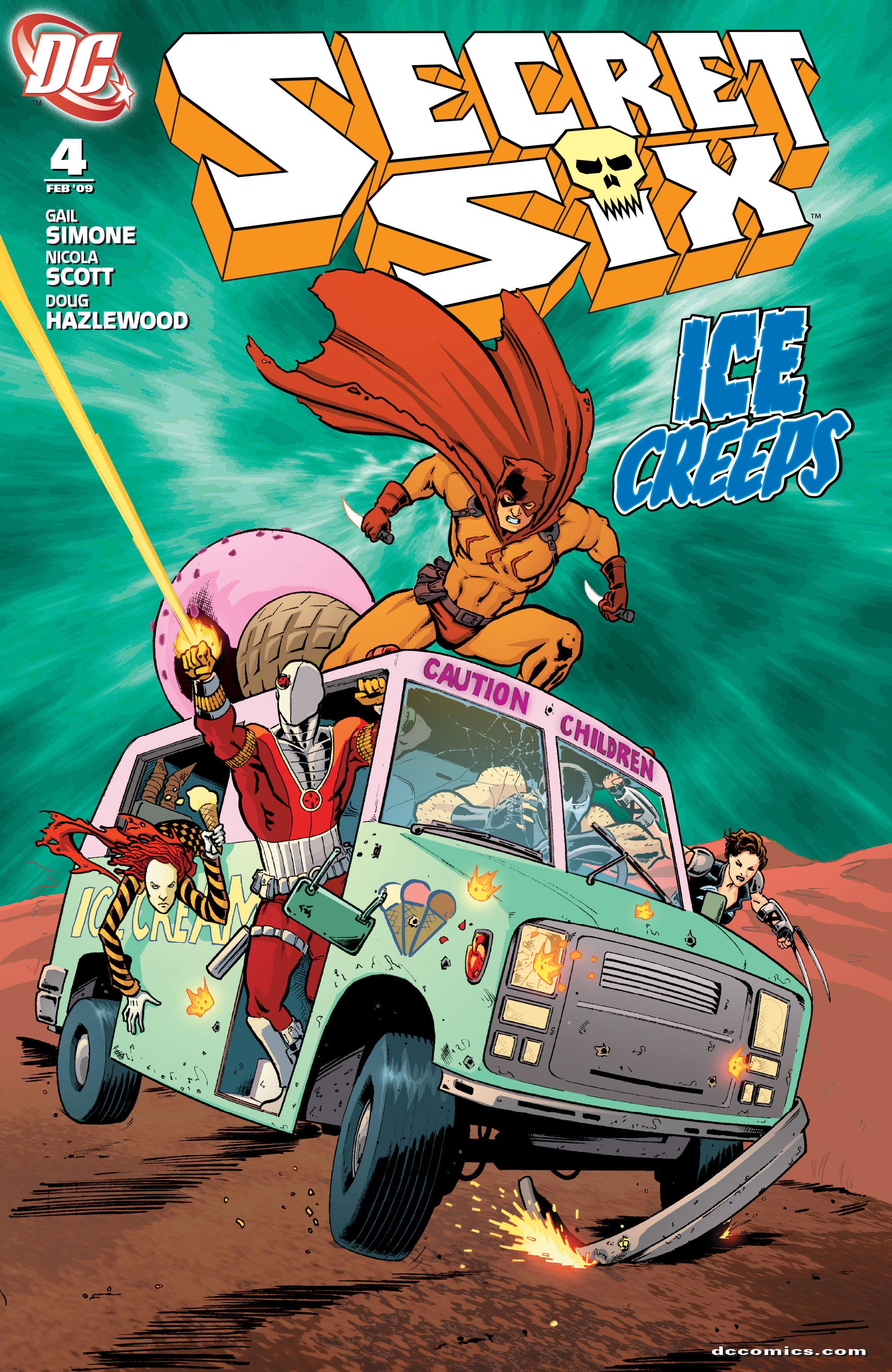 Read online Secret Six (2008) comic -  Issue #4 - 1