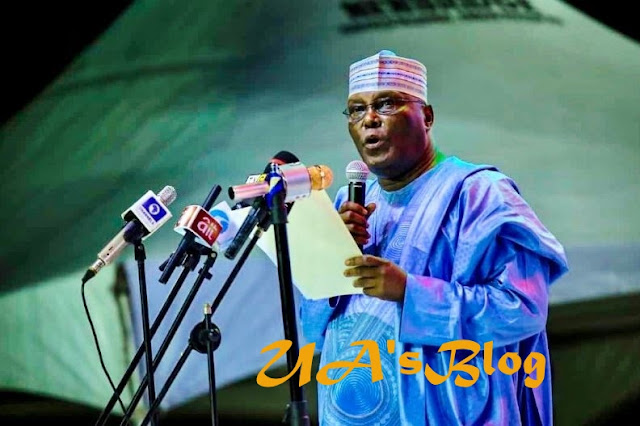 Atiku pays tribute to Obasanjo after emerging PDP presidential flag bearer