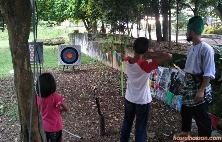 Memanah Tradisional di Laman Budaya Kuala Kangsar