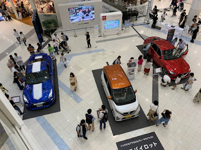 日産車両展示イベント