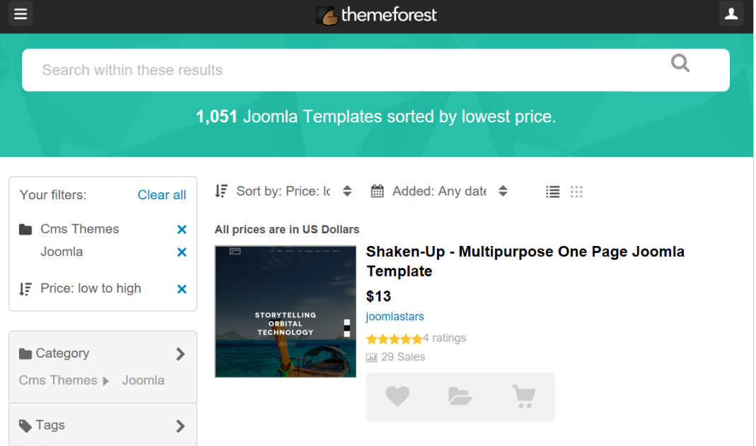 install themes in jhoomla: download