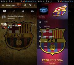 BBM Mod Barcelona FC Terbaru V3.2.3.11 Apk