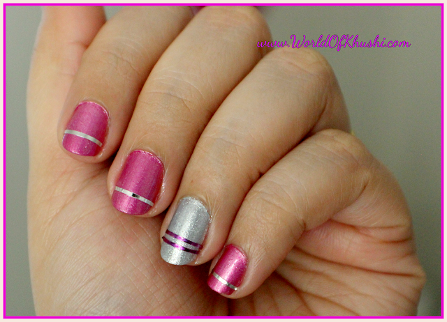 How To Do Striping Tape Nail Art At Home