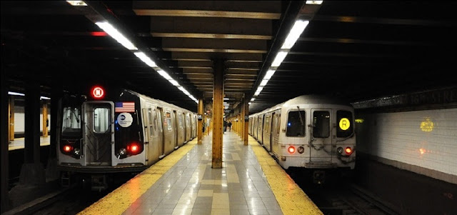 Como andar no metrô de Nova York
