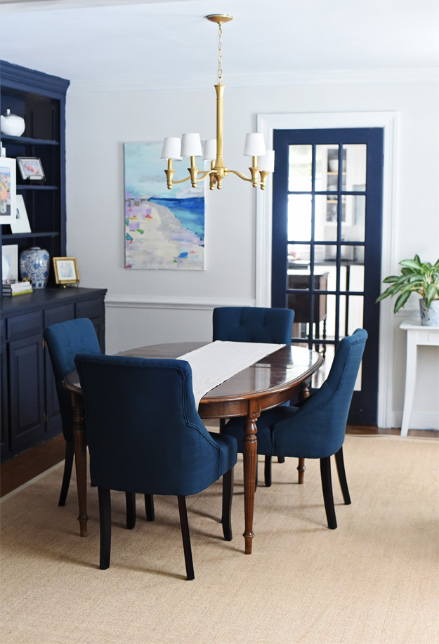 New Dining Room Chairs JULIA RYAN Enchanting Blue Dining Room Furniture