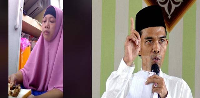 Jawaban Telak Ustadz Somad untuk TKW Pemakan Daging Babi