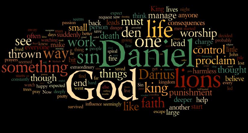 Sermon on Daniel 6 - Ramblings on a Journey of Faith