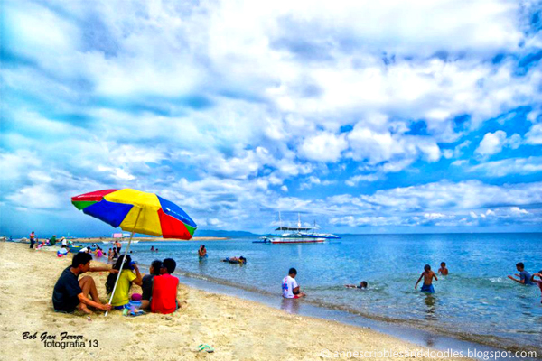 Argao Beach Cebu Philippines | Anne's Scribbles and Doodles