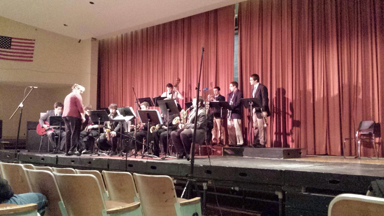 FHS jazz band