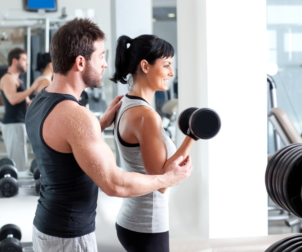 Jak flirtovat s mužem ve fitness