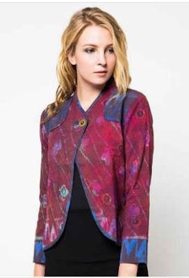 Model blazer batik anak muda