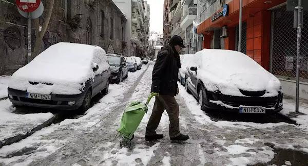 Ήρθε ο χειμώνας: Χιόνια, πτώση της θερμοκρασίας και ενισχυμένοι βοριάδες - Χάρτες