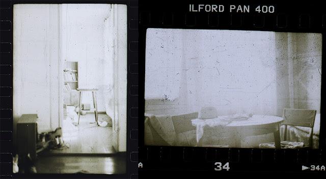 stara analogowa odbitka klisza fotografia oldschool