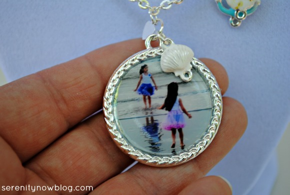 Photo Pendant with Enamel (Martha Stewart Jewelry), from Serenity Now