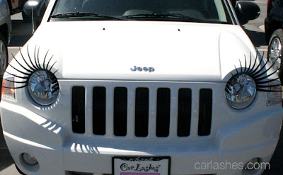 Creative and Cool Eyelashes for your Car (10) 6