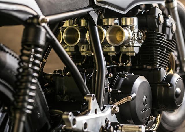 Honda CB750 By Caffeine Custom Hell Kustom