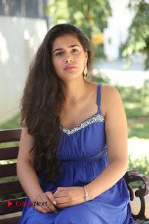 Actress Prasanna Stills in Blue Short Dress at Inkenti Nuvve Cheppu Movie Platinum Disc Function  0135.JPG