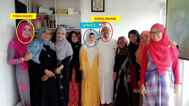 Firza Husein, Tersangka Makar yang Dituding Dekat Dengan Habib Rizieq