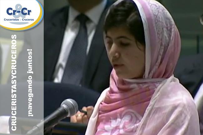 ► Celebrity Cruises anuncia su apoyo a la Fundación Malala y a la educación de las niñas de todo el mundo
