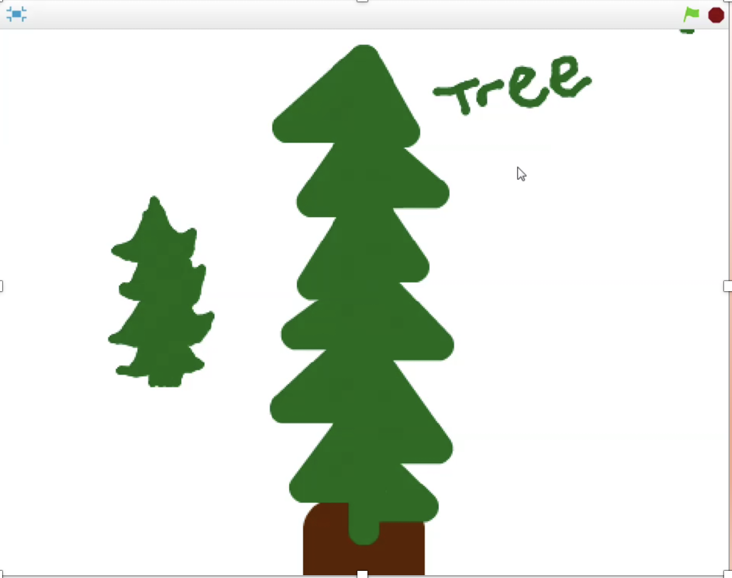 hight resolution of scratch 101 winter trees