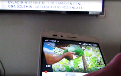 tek dokunuşla Vestel Smart TV'de nasıl izlenir