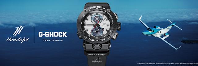 CASIO presenta el G-Shock Gravitymaster en colaboración con HondaJet
