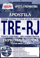 Apostila TRE RJ PDF Grátis