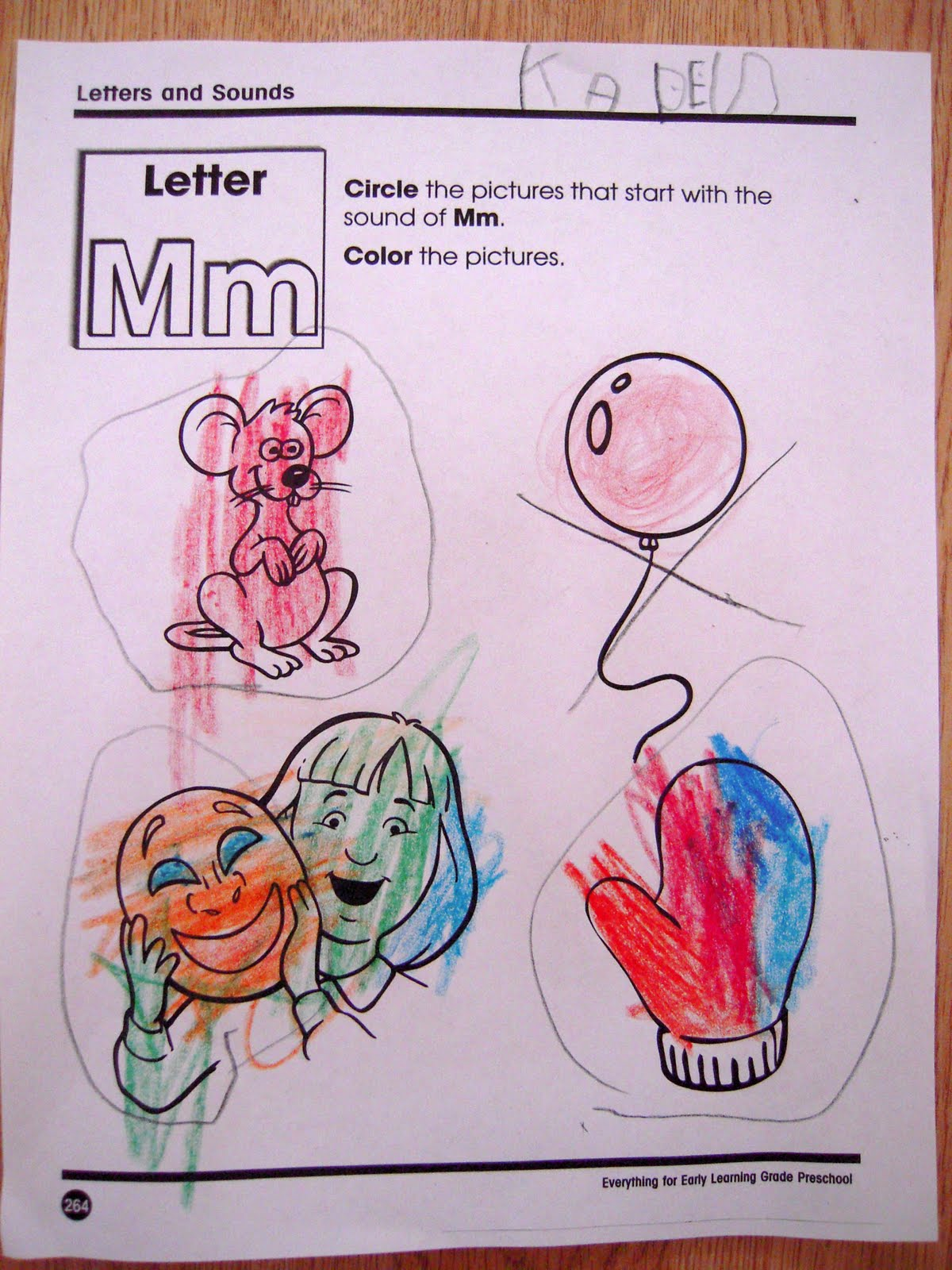 La La S Home Daycare Letter Mm Week
