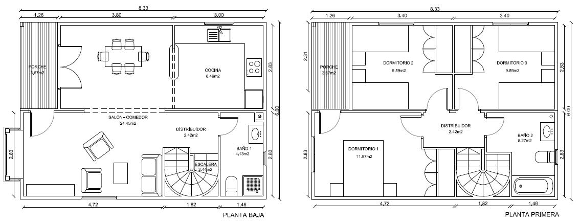 Casas de madera prefabricadas casa con segundo piso de madera for Casas segundo piso de madera