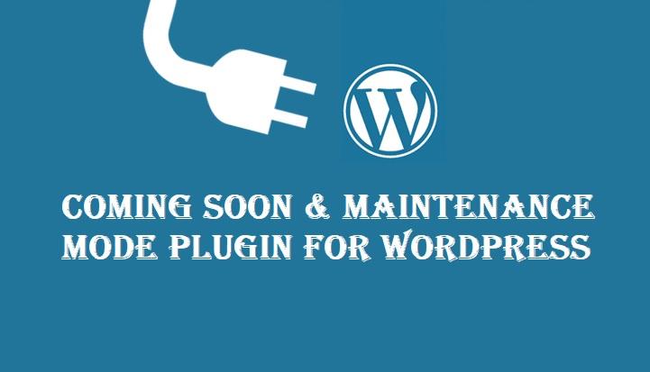 Coming Soon & Maintenance Mode for WordPress