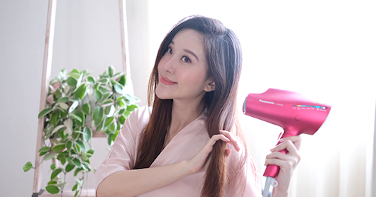 New Year, New Hair Dryer | Panasonic EH-NA98 Nanoe Review ♡