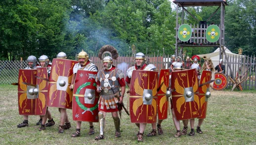 Romanos y su testamento militar