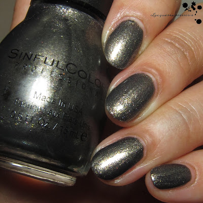 aced out nail polish swatch by sinfulcolors
