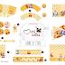 Lovely Winnie the Pooh Free Printable Editable Kit.