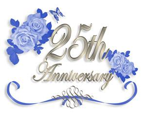 Hy 25th Wedding Anniversary Life Isn T Always Easy But By Seeing Each Other Through The Tough Rough Times Sweetness Love