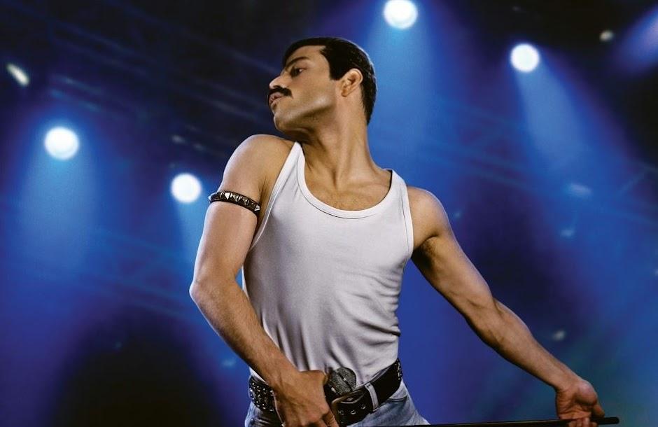 "Rami Malek como Freddie Mercury na primeira imagem de ""Bohemian Rhapsody"""
