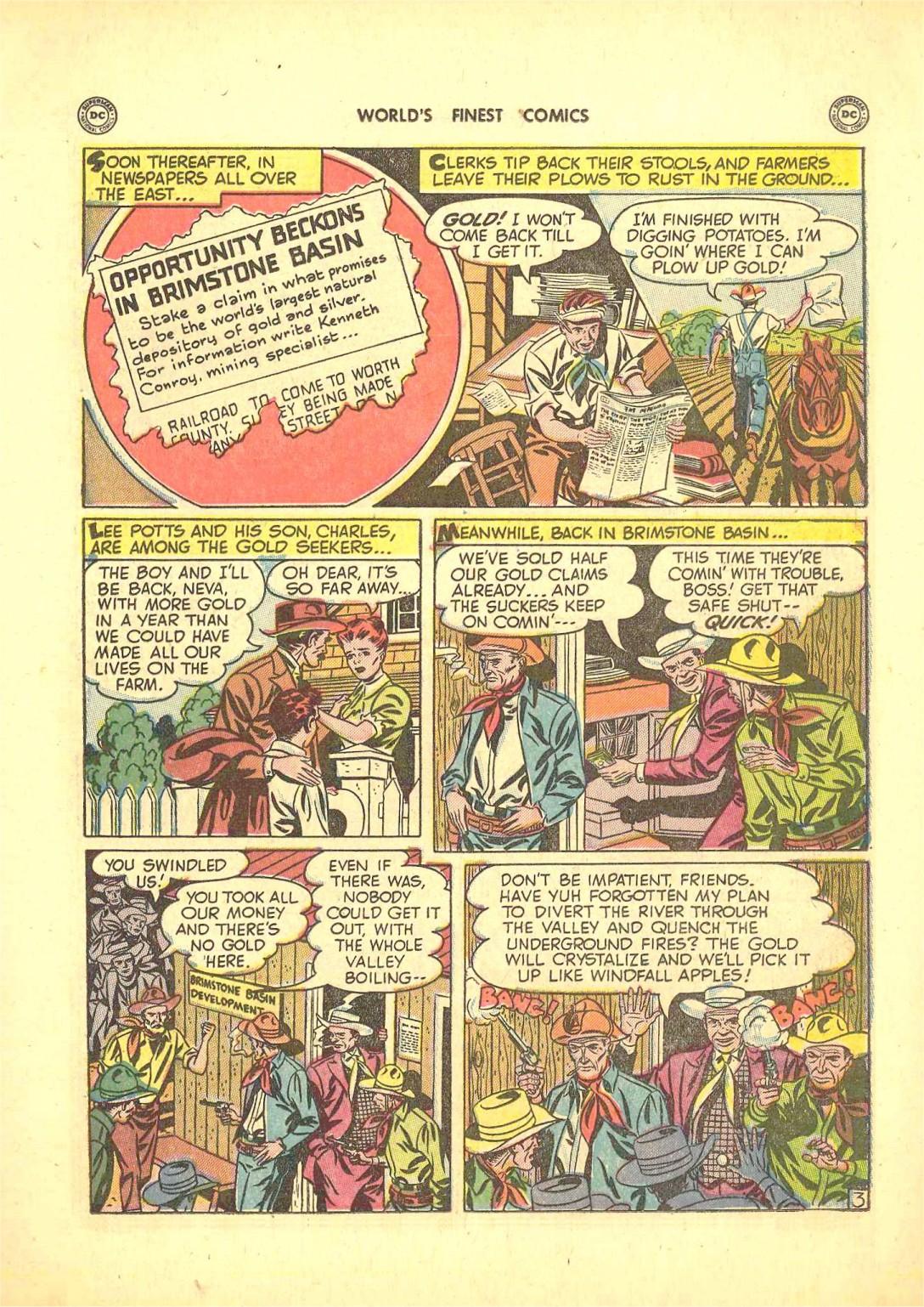 Read online World's Finest Comics comic -  Issue #50 - 41