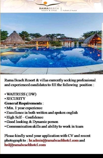 Lowongan Kerja Hotel di Bali