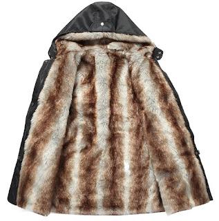 damski zimni palta